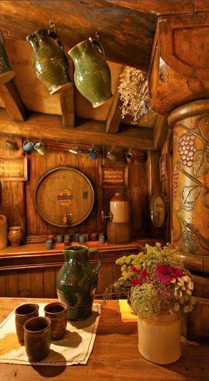 The Green Dragon Inn in Hobbiton, Matamata, New Zealand - Now you can drink in the same pub as Bilbo...