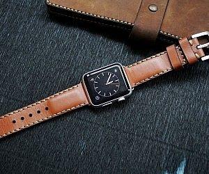 Apple Watch Vintage Leather Strap
