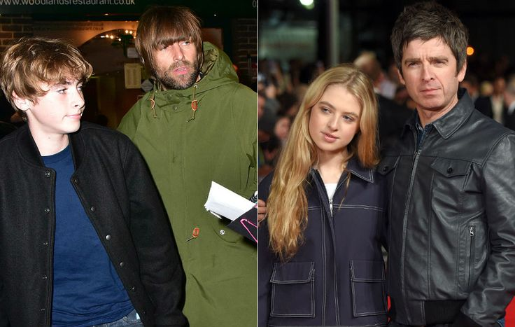 Now Liam and Noel Gallagher's children are feuding