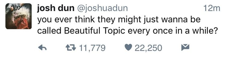 You're asking the real questions Josh
