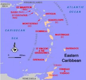 Lesser and Greater Antilles / Windward and Leeward Islands - What is What? | Caribbean Travel Blog - RumShopRyan