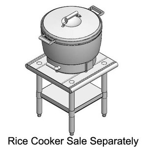 """NEW Commercial Rice Cooker Stainless steel Stand PRT-2020 20""""x20""""x24"""""""