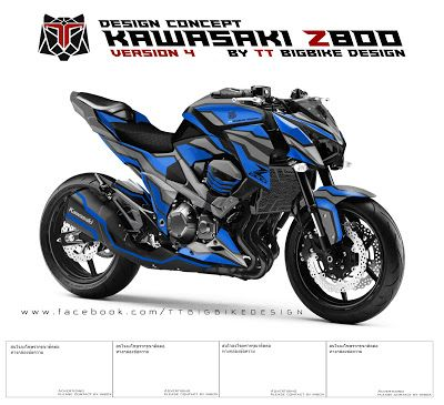 Tt bigbike design kawasaki z800 design concept 4