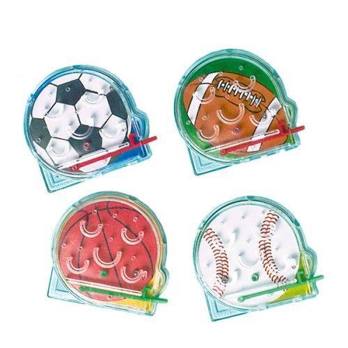 Lors d'un goûter d'anniversaire ou autre fête d'enfants, ces jeux à bille sport sont une superbe idée de petits cadeaux.