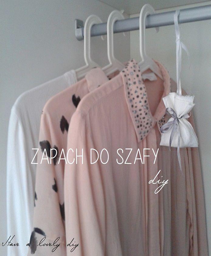 Zapach do szafy DIY