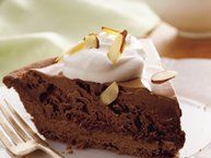 French Silk Pie recipe from Betty CrockerDesserts Plea, Mm Food, Pies Recipe, Frosty French, Betty Crocker, Decadent French, Decadent Desserts, French Recipe, French Silk Pies