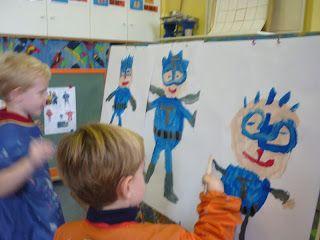 Mariaschool: superhelden