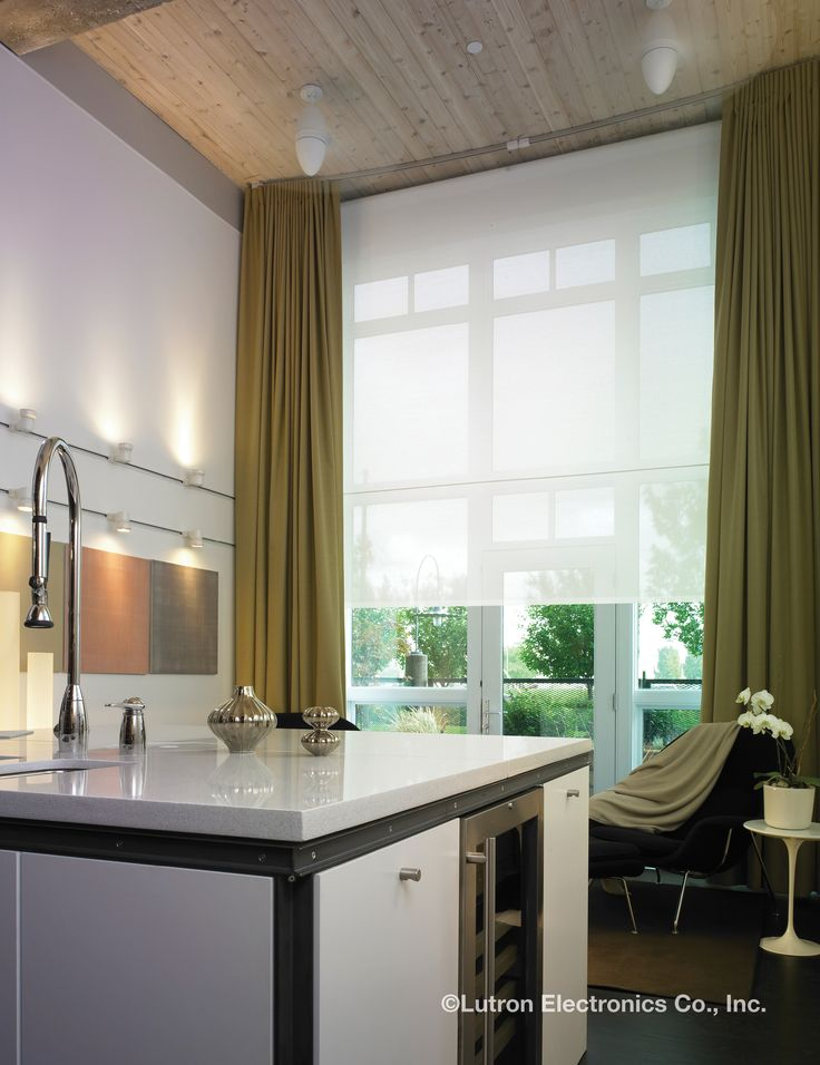 254 best images about window treatments on pinterest for Motorized shades los angeles