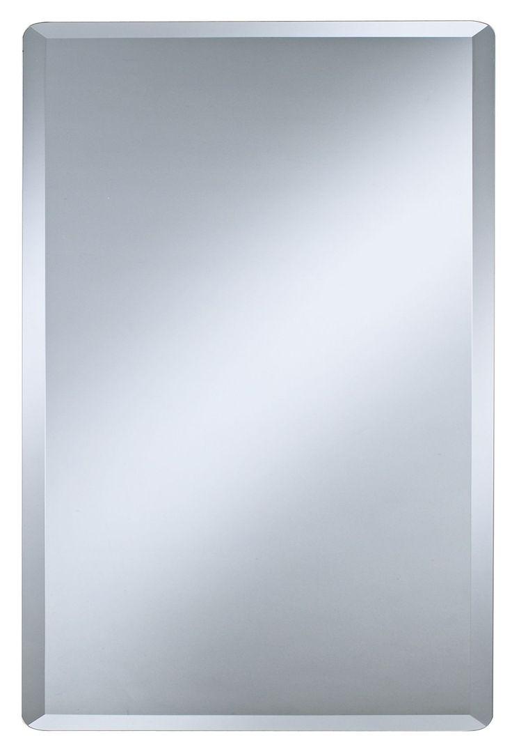 Frameless Rectangular 30 High Beveled Mirror