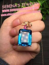 http://babyclothes.fashiongarments.biz/  15.5*20mm 30.75ct 18k 750k rose gold 2.98grams natural london blue topaz crystal pendant necklace for women, http://babyclothes.fashiongarments.biz/products/15-520mm-30-75ct-18k-750k-rose-gold-2-98grams-natural-london-blue-topaz-crystal-pendant-necklace-for-women/,  name: london blue topaz  crystal stone size:15.5*20mm  crystal stone weight: 30.75ct  gold weight: 2.98grams  This one has national certificaiton  Decorates with 21 pieces south africa…