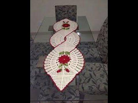 CAMINHO DE MESA INFINITO 1/3 - Como fazer a flor - YouTube