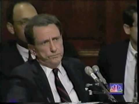 Arlen Specter Interrogates Anita Hill - YouTube
