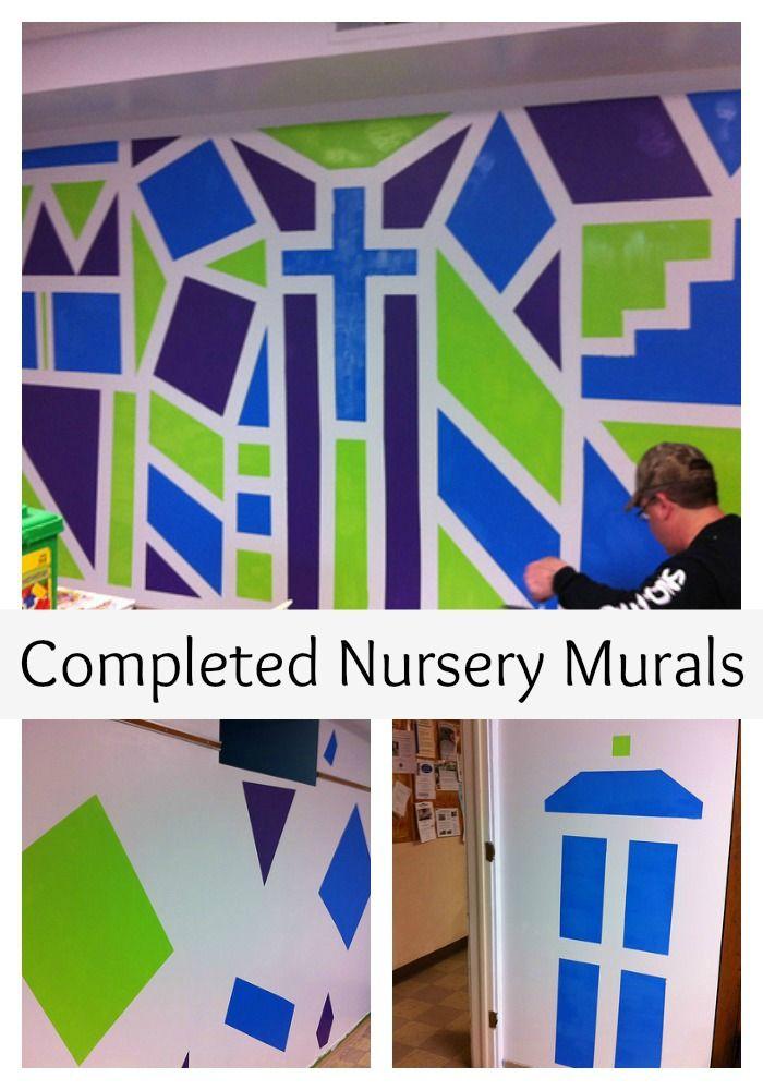 38 best sunday school room ideas images on pinterest for Church nursery mural ideas