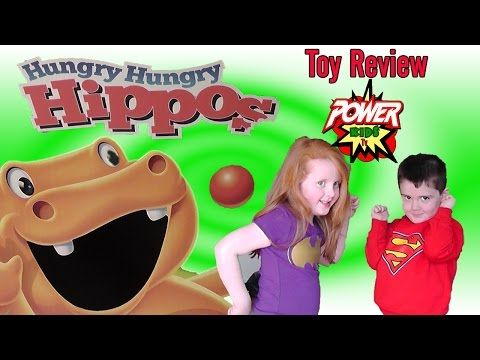 Hungry Hungry Hippos Toy Review - YouTube