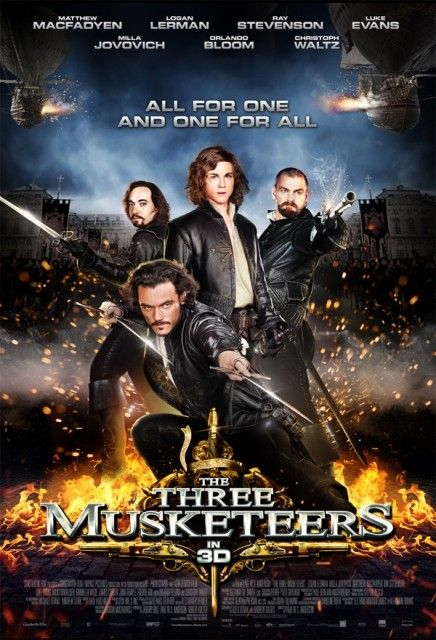 The Three Musketeers (2011) movie poster