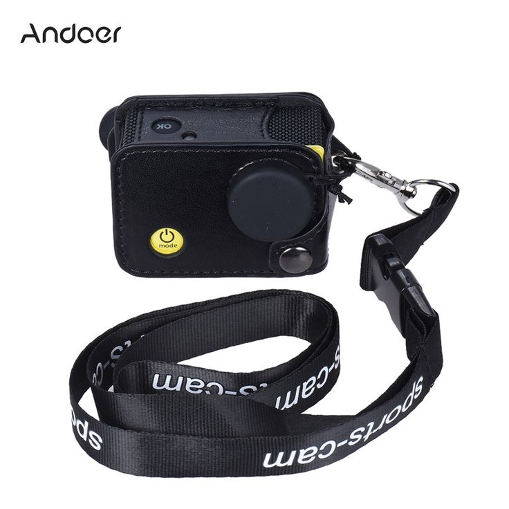 Best Andoer Clip-on Black Sports Camera Protecive Carrying Hanging Sale Online Shopping