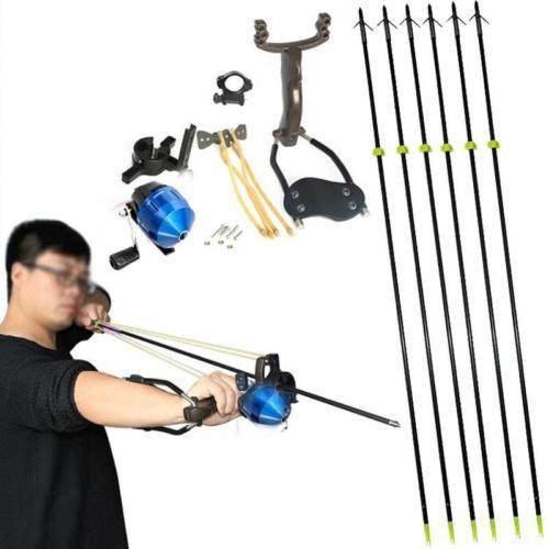 #Hunting #fishing catapults shooting fish slingshot archery bow fiberglass #arrow,  View more on the LINK: 	http://www.zeppy.io/product/gb/2/282073588684/