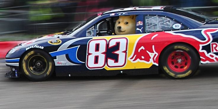 Could NASCAR drive Dogecoin to the moon?
