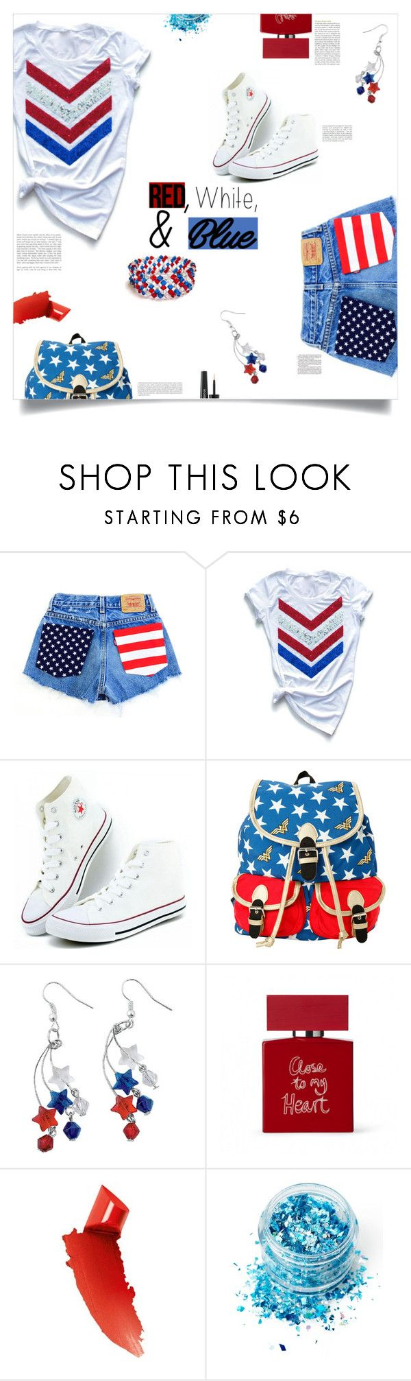"""Independence Day, Roland Emmerich (1996)"" by agla83 ❤ liked on Polyvore featuring DC Comics, Oris, Bella Freud, By Terry, In Your Dreams and Dolce&Gabbana"