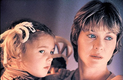 "Dee Wallace-Stone:  Everyone's mom in the 80's -- pictured her with Drew Barrymore from ""E.T.: The Extra-Terrestrial"""