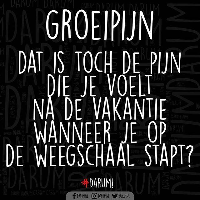 Toch? #darum #groeipijn