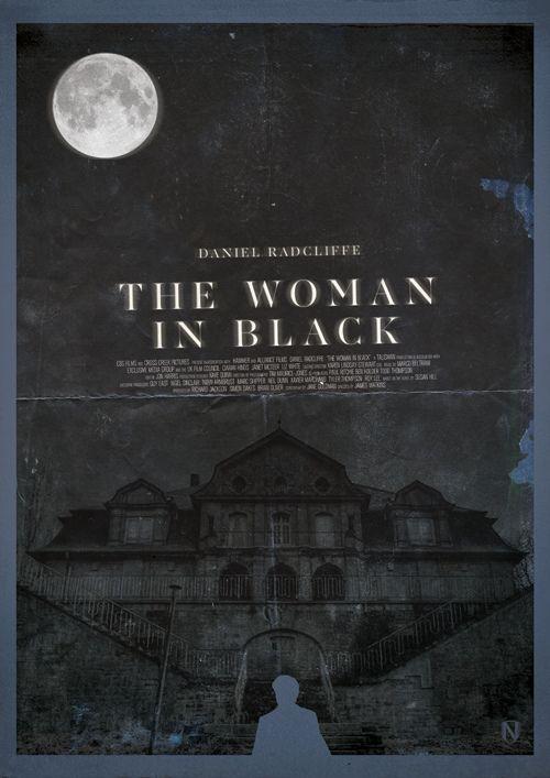 The Woman in Black (2012) ~ Alternative Movie Poster by Matt Needle #amusementphile