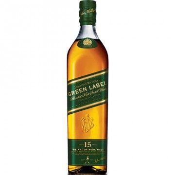 Johnnie Walker Green Label 15 Year Blended Malt Scotch Whisky 750ml - Crown Wine & Spirits $70
