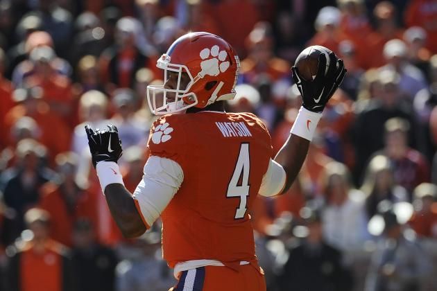 Power Ranking College Football Conferences by 2015 QB Depth Clemson's Deshaun Watson