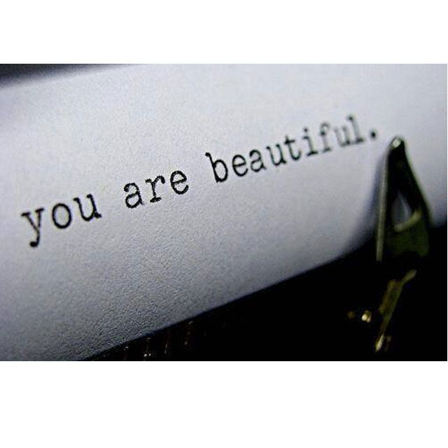 It's important to remember that everyone has imperfections. #beautiful