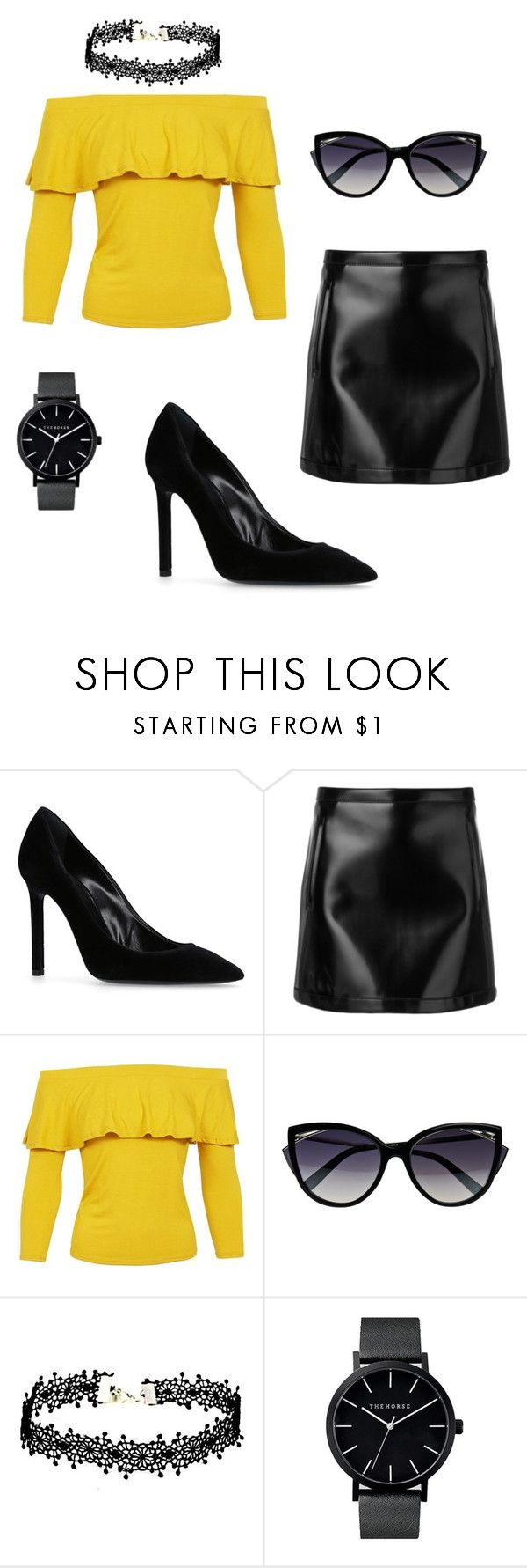 """Untitled #27"" by ivananna on Polyvore featuring Yves Saint Laurent, Philosophy di Lorenzo Serafini, Sans Souci and La Perla"