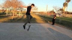 LION FLIP (Fakie 720 Gazelle flip) | Nick Holt Trick Challenge - http://DAILYSKATETUBE.COM/lion-flip-fakie-720-gazelle-flip-nick-holt-trick-challenge/ - http://www.youtube.com/watch?v=F7_4EfFWhWM&feature=youtube_gdata  Nick Holt Tackles one of the the hardest flatground tricks ever!! Thanks to Gianni Blok for the trick challenge suggestion :) subscribe to majer crew! http://youtube.com/majercrew follow... - challenge, fakie, flip, gazelle, holt, lion, nick, trick