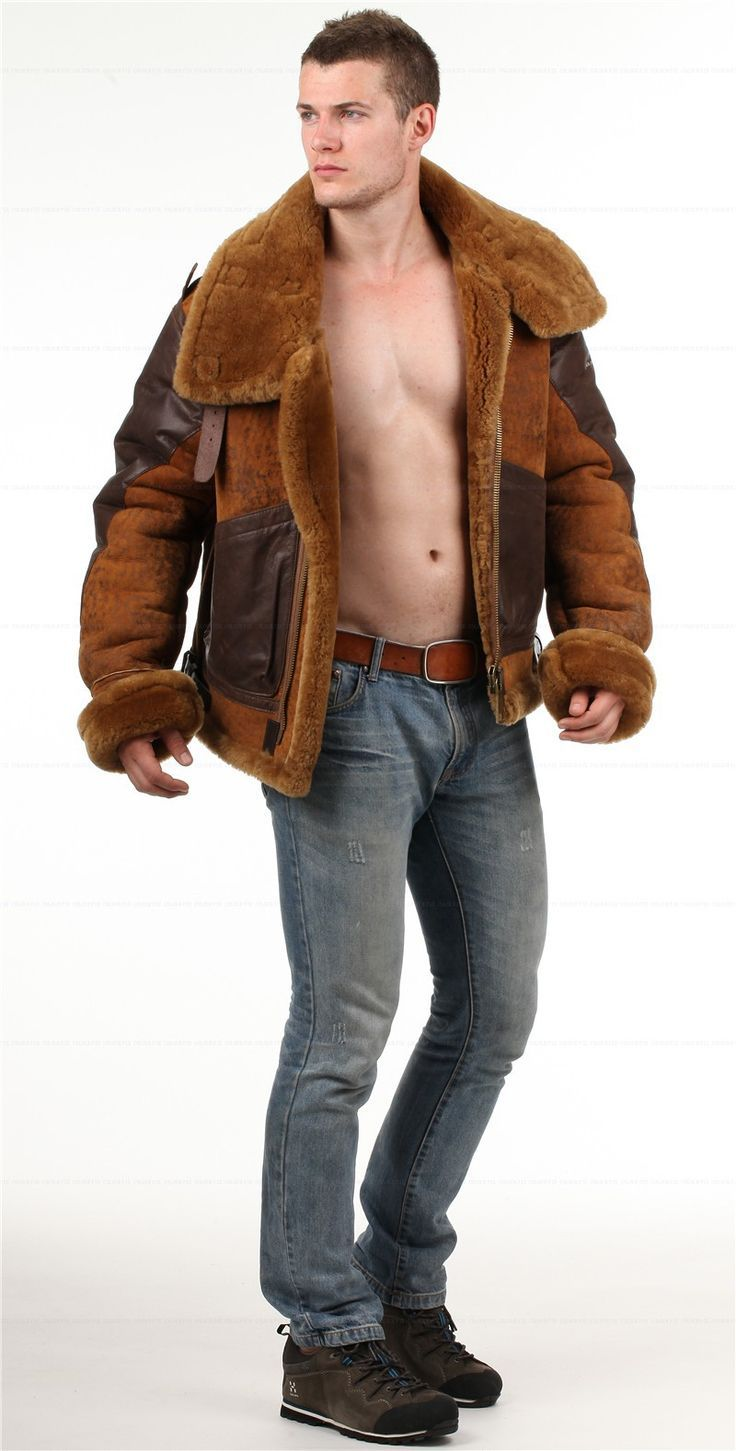 476 best B3 sheepskin jackets images on Pinterest | Sheepskin ...