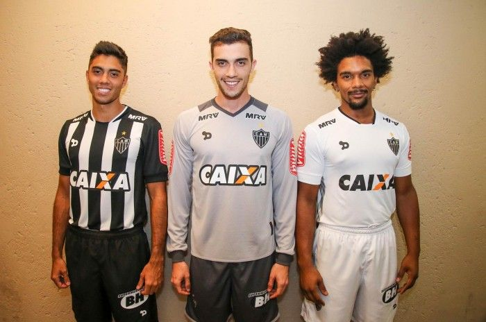 Atletico Mineiro 2016 Dryworld Home & Away Shirts