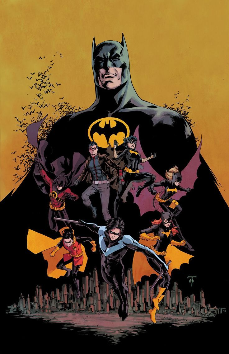 BAT FAMILY. Batman. Red Hood. Red Robin. Nightwing. Robin. Batgirl. Black Bat.