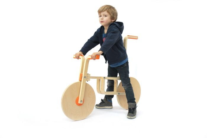 Ultimate IKEA hack for parents: Designers Turn IKEA Stool Into A Bicycle.  This is on the immediate to-do list.  Of course, quick check on IKEA's website shows they no longer carry the Frosta stool.  :(