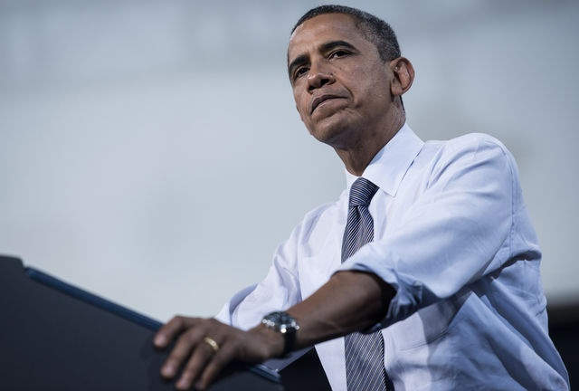 #7 - 9/19/12 - After nearly four years in the White House, President Obama is facing criticism that his relief programs for borrowers have lacked broad and aggressive measures and have reached fewer families than intended. Photographer: Brendan Smialowski/AFP/Getty Images