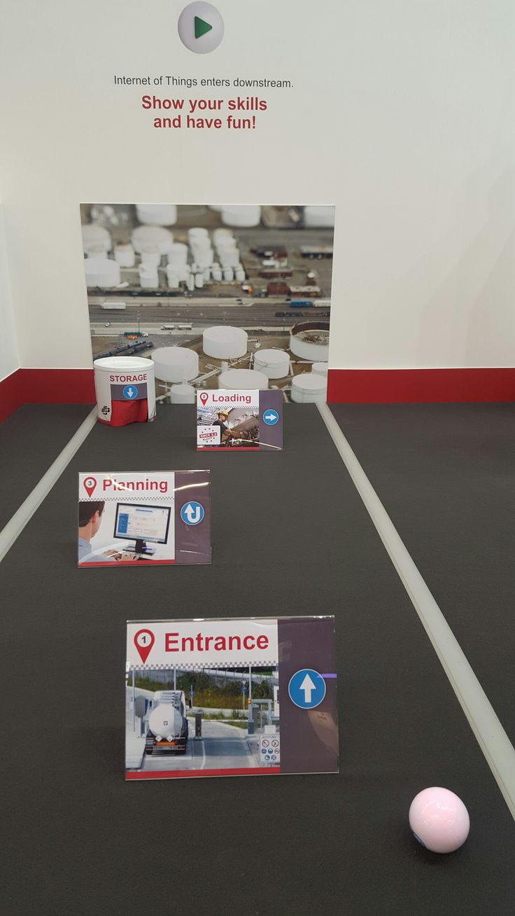 Our Sphero Ball at our StocExpo stand