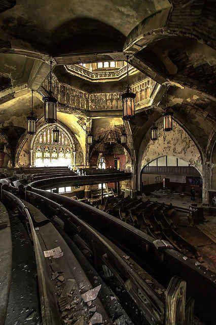 Igreja em  Detroit.