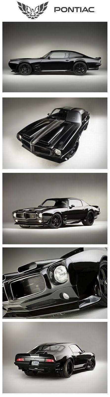 Diario Motocicleta: '70 #Pontiac Firebird - uno de los coches mas impresionantes que he visto This.