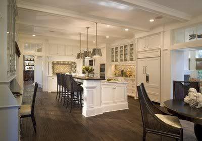 exposed beam ceilings - Kitchens Forum - GardenWeb
