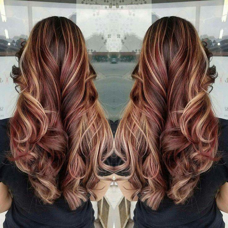 Best 25+ Burgundy blonde hair ideas on Pinterest   Fall ...
