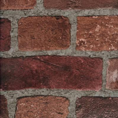 Textured brick-look wall paper.  $38 us