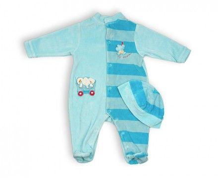 Pyjama et bonnet - vêtements enfant pas cher