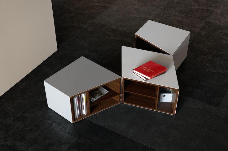 BRUIJN on set # #corian #container #design #interior #coffee #table #container