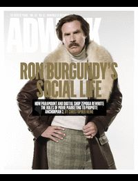 """ARTICLE - adweek - """"Will Ferrell's Anchorman 2 Is Changing the Way Movies Are Marketed. The wide-reaching social push is unlike anything done before By Christopher Heine """" - """"Part of the splendor of a socially progressive movie campaign is that you turn some of the control over to the fans."""" #socialmedia #brandcontent #UGC #cinema #entertainment #ronburgundy #anchorman2 #willferrell"""