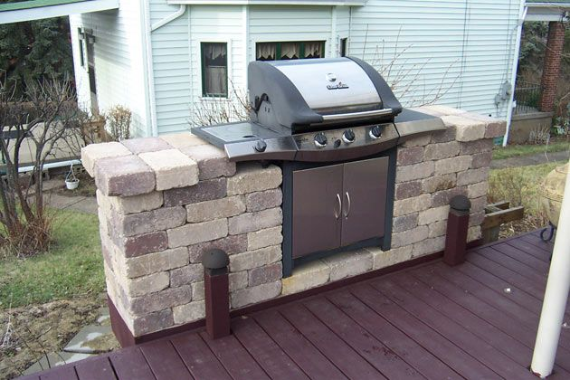 Outdoor Firepits, Fireplaces and Grill Stations by Brandon Landscape - Pittsburgh's Landscape Design Specialists