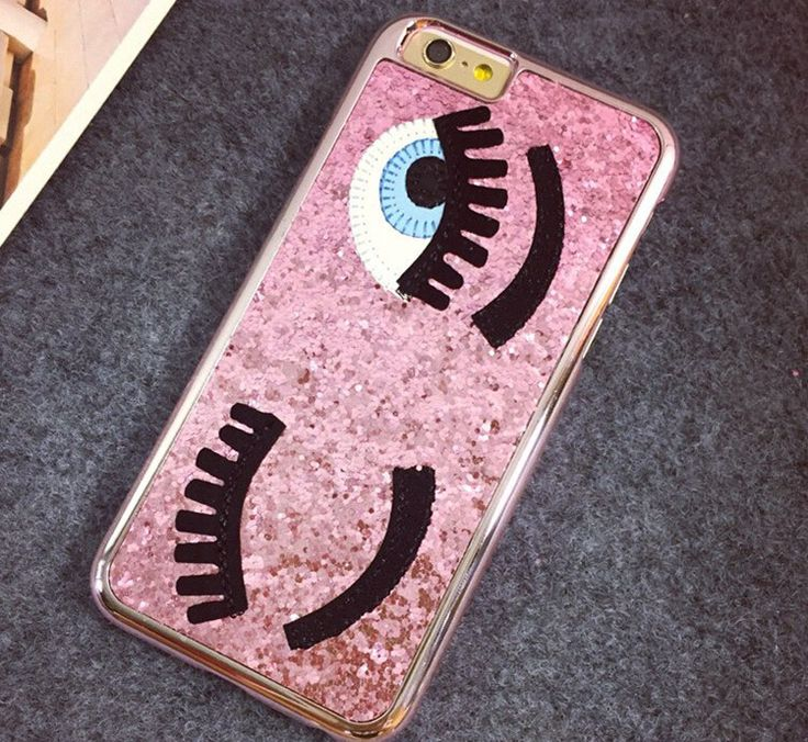 Flirting Eyes iPhone Case