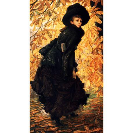Reprodukcje obrazów James Tissot October - Fedkolor