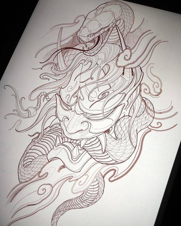 Best 25+ Hannya Mask Tattoo Ideas On Pinterest