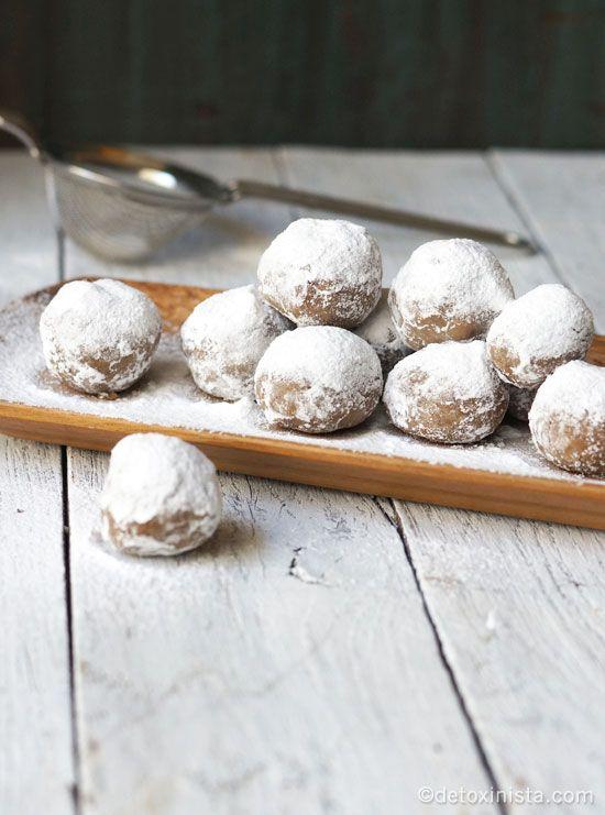 No-Bake Pecan Snowballs Recipe